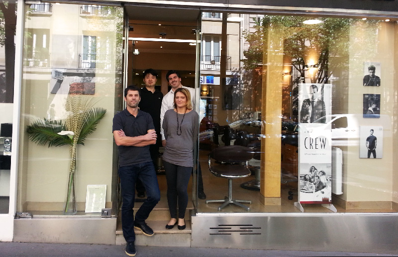Hair stylist team Paris 16