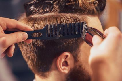 Men hairdresser Paris
